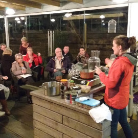 Vegan cooking demonstrations, classes and workshops.