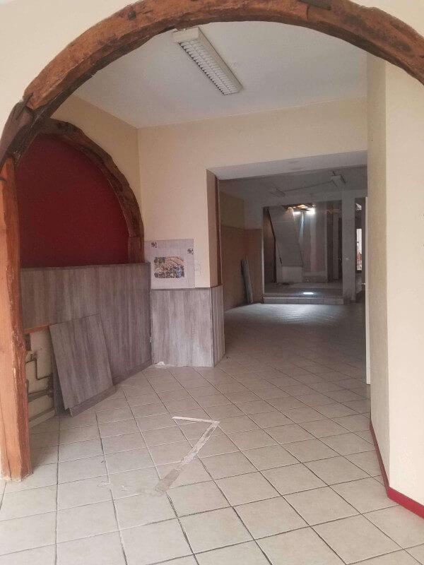 Interior before...