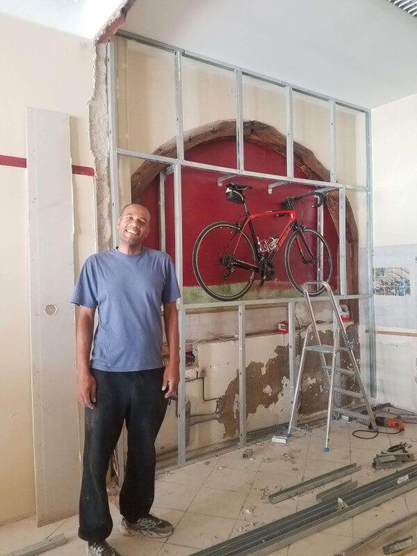 Philippe spirit unbroken - renovation at 20 rue des Frères Delga, Gaillac.