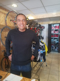 Philippe bike mechanic.