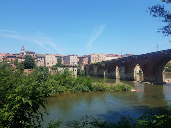 A bridge in Albi.