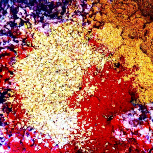 Spices: an explosion of colour.